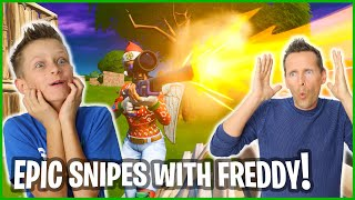 Hitting Epic Snipes with Freddy!