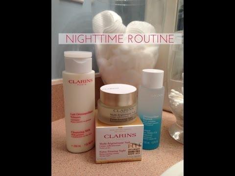 Clarins Skincare Part 1 Day & Night Routine