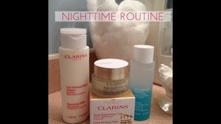 Clarins Skincare Part 1 Day & Night Routine