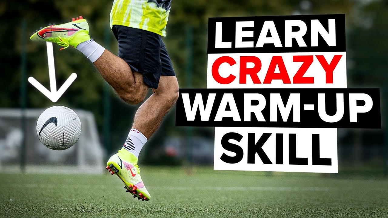 Learn this amazing warm up skill in 3 simple steps