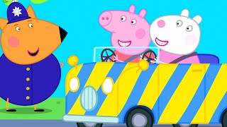 Peppa Pig Official Channel | Peppa Pig Learns How to Drive ( In the Future)