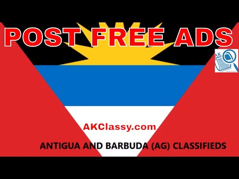 ANTIGUA AND BARBUDA LOCAL CLASSIFIEDS: How to Post Free Ads | Jobs/Cars/Buy & Sell Web AKClassy.com