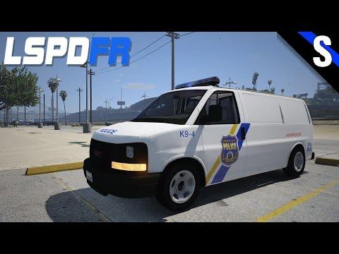 GTA V LSPDFR #123 Philadelphia Police GMC Savana