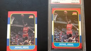 How to tell a real Michael Jordan rookie from a reprint
