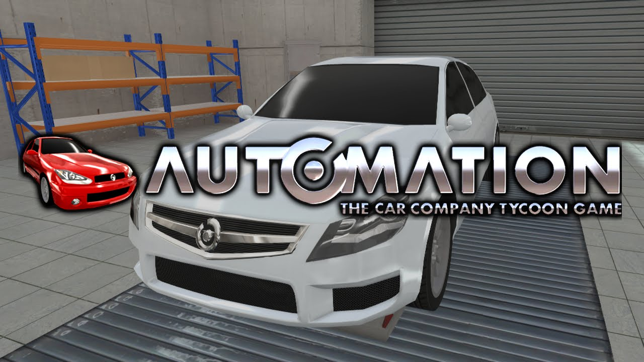 Automation - The Car Company Tycoon Game Sur PC