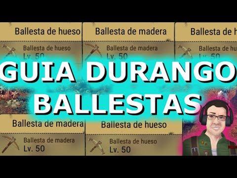 ⚡GUIA DURANGO - ⚡COMO FABRICAR BALLESTAS NIVEL 40 Y 50😱 EN ESPAÑOL