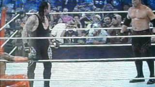 undertaker regresa a summerslam 2010 y confronta a kane