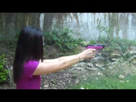 Girl W The Cal. 22 Pistol 1