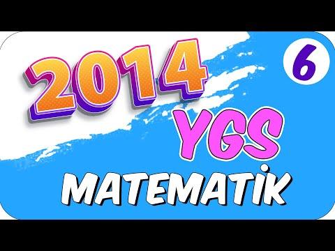 6 2014 YGS MATEMATİK