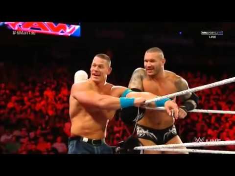 WWE Raw 720 John Cena, Randy Orton, Cesaro vs Kevin Owens ...