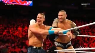 WWE Raw 720 John Cena, Randy Orton, Cesaro vs Kevin Owens, Rusev, Sheamus BestAvailable