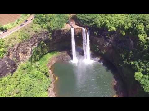 Kauai, Hawaii, 2017, Wailua Falls