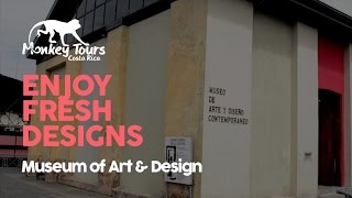 Museum of Art and Design - MADC in Costa Rica(Host of Costa Rica Monkey Tours video profiles, Michelle Jones, heads to the Museum of Art and Design in the renovated liquor distillery of old in San Jose, ..., 2015-05-04T17:43:15.000Z)