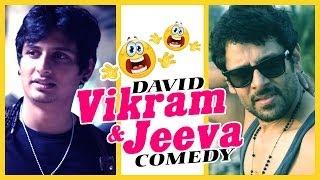 David | Tamil Movie Comedy | Vikram | Jiiva | Tabu | Lara Dutta