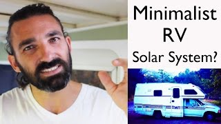Off Grid RV Life || our new solar panel system on 19 ft winnebago