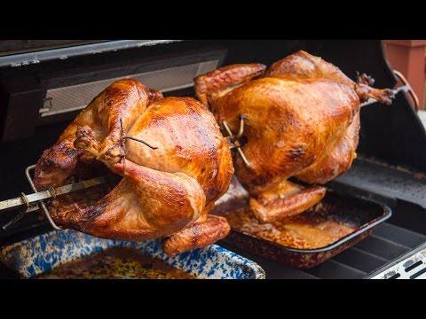 Rotisserie Grilling Two Turkeys?