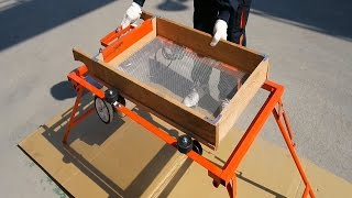 (주)대광건설기계 :: 휴대용 접이식 석발기 DKM-S…