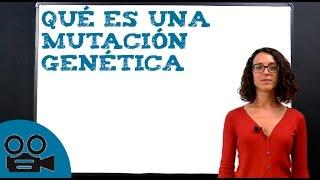 Qué es una mutación genética