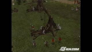 Stronghold 2 PC Games Gameplay - Trebuchet fun