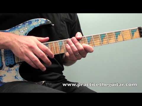 electric guitar lesson how to play finger tapping arpeggios in g backing tracks practice youtube. Black Bedroom Furniture Sets. Home Design Ideas