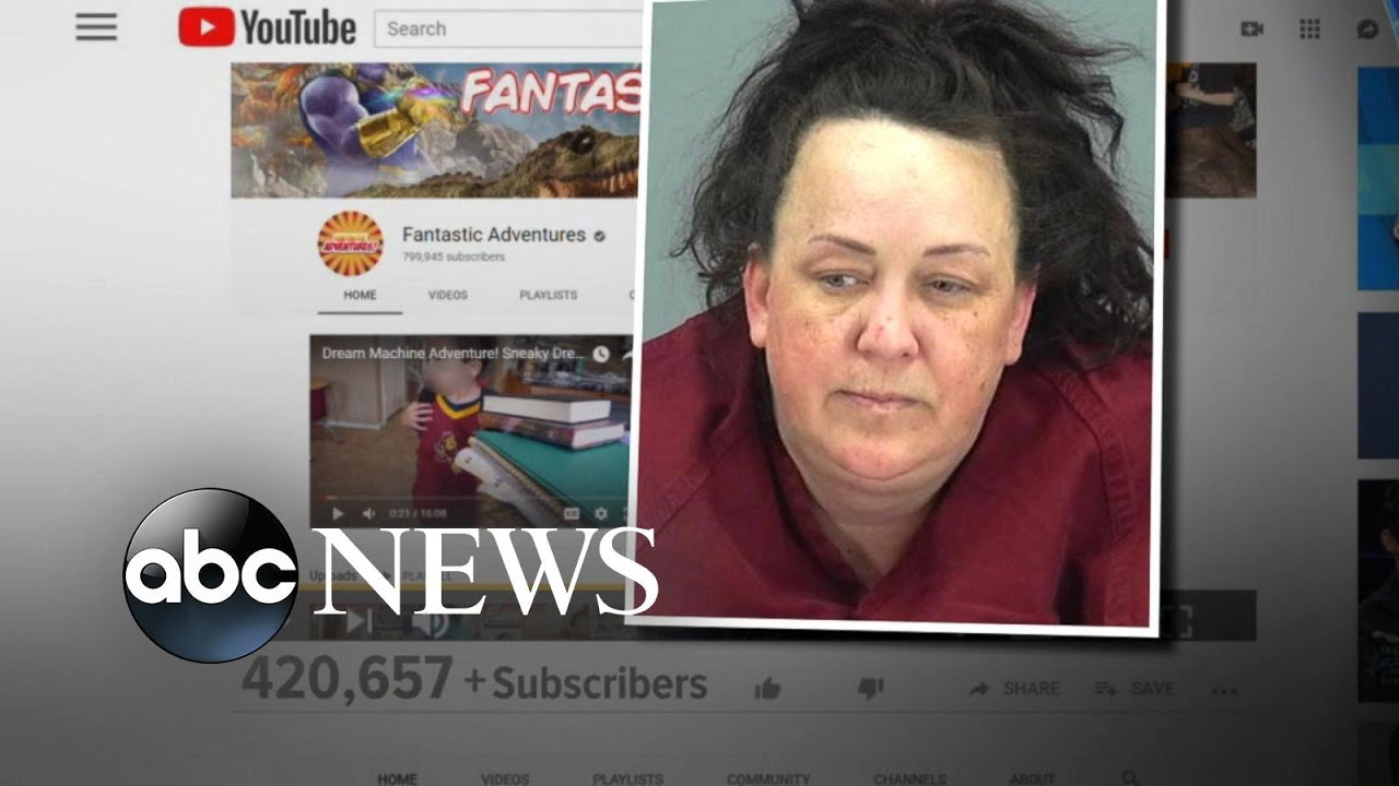 YouTube star accused of abusing her adoptive kids   GMA