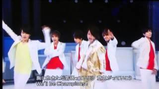 2015/8月8日 MUSIC FAIR「Cha-Cha-Chaチャンピオン」Sexy Zone