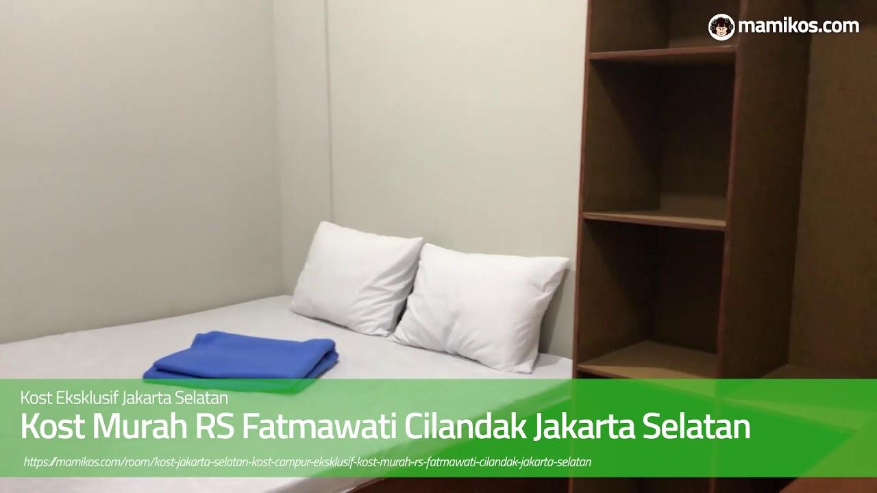 Kost Murah RS Fatmawati Cilandak Jakarta Selatan - YouTube