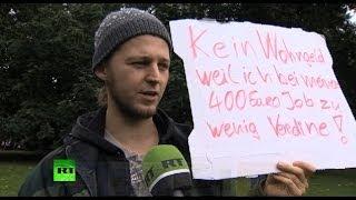 Жители Германии: на наши зарплаты нельзя прожить(Завтра в Германии состоятся парламентские выборы, однако их исход, по всей видимости, уже предрешен. Практи..., 2013-09-21T17:20:50.000Z)