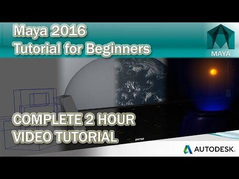 Maya Tutorial for Beginners 2016 | 2017