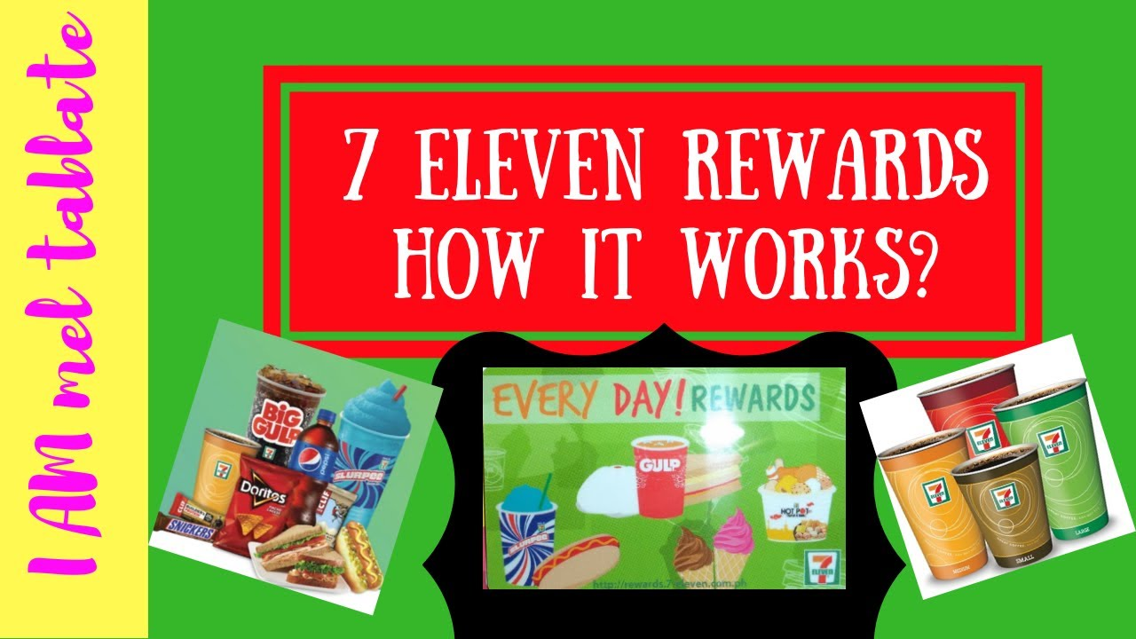 How to redeem 7-eleven reward points using the Cliqq app