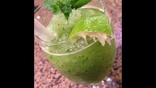 Fresh Caribbean Mint Lemonade!