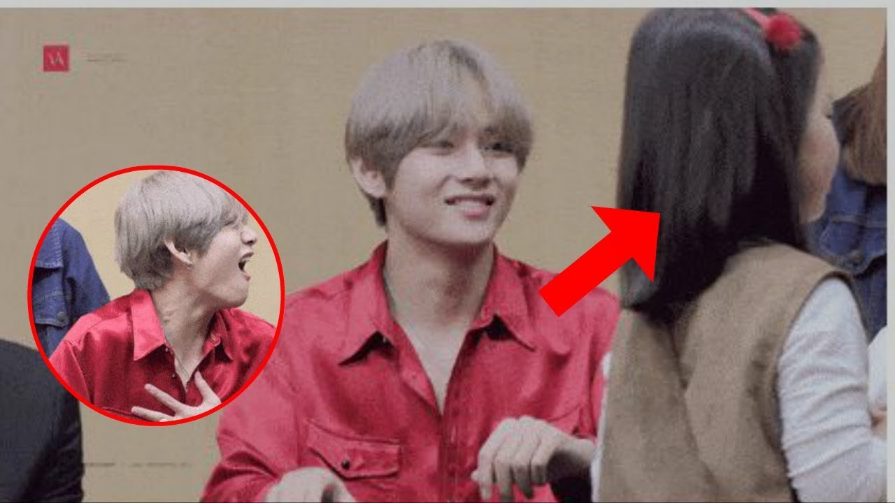 Bts Members Became Powerless When This Cute Girl Walked Into Their