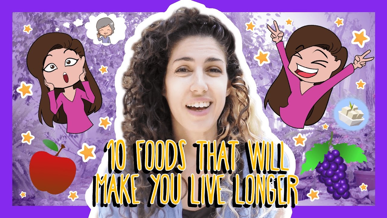Learn the Top 10 Foods That Will Make You Live Longer in Hebrew