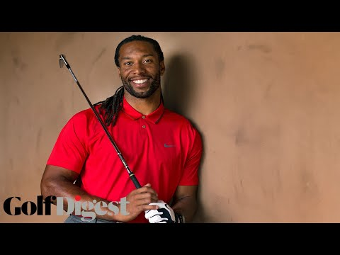 Larry Fitzgerald Takes the 5-Shot Golf Challenge for Charity  | Golf Assassins