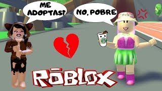 😢DONNO WANT TO ADOPT ME FOR BEING POBRE, 🤑BUT I HAVE A MANSION🏠ADOPT ME - ROBLOX