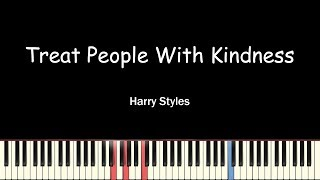 Harry Styles - Treat People With Kindness(Piano Cover)