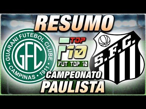 Guarani x SantosFC Ao Vivo l Campeonato Paulista l Narração