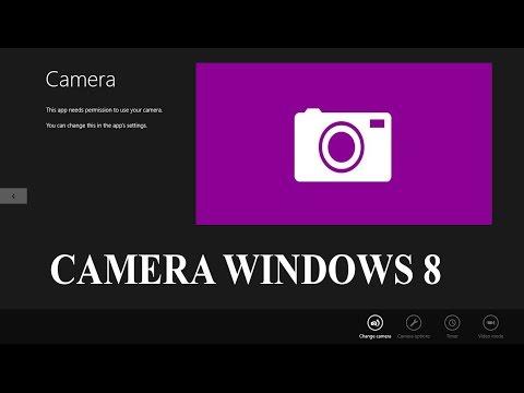Cách Mở Camera Laptop Win 8