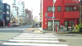 赤門会日本語学校 本校までの道案内@JR常盤線三河島駅ルート
