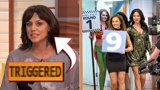 Piers Morgan and Grid Girls Wreck Feminist Who Supports F1 Grid Girl Ban (REACTION)