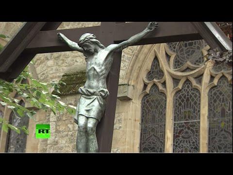 Христианство теряет популярность среди британцев