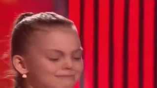 Вероника Тычкова 'Полюшка'  Голос Дети 2 (выпуск 13 02 2015)