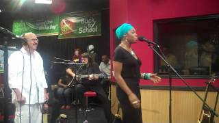 Inda Arie  performs Cocoa Butter & I Am Not My Hair on the Tom Joyner Morning Show.
