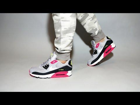 nike-air-max-90-grey-pink-volt-aj1285-020-on-feet