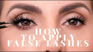 TOP TIPS FOR APPLYING FALSE LASHES ALI ANDREEA
