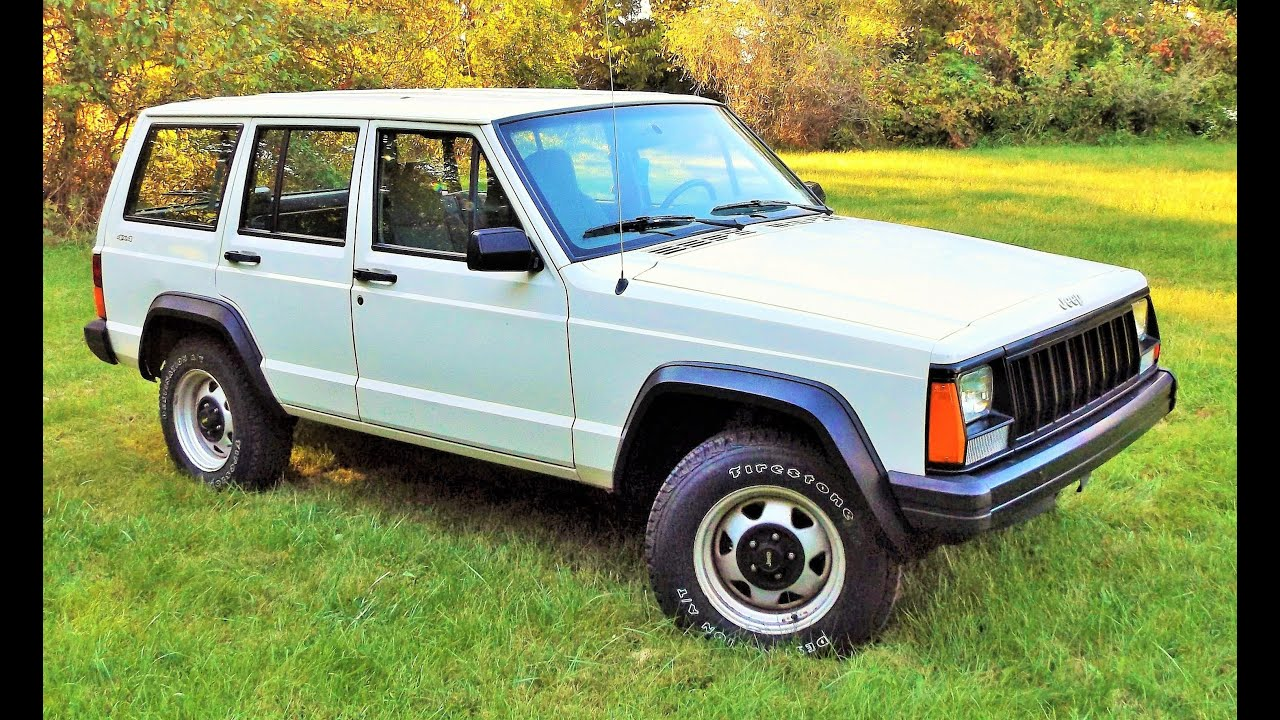 1 Owner 47k 1996 Jeep Cherokee Se 4 0l 4x4 Start Up