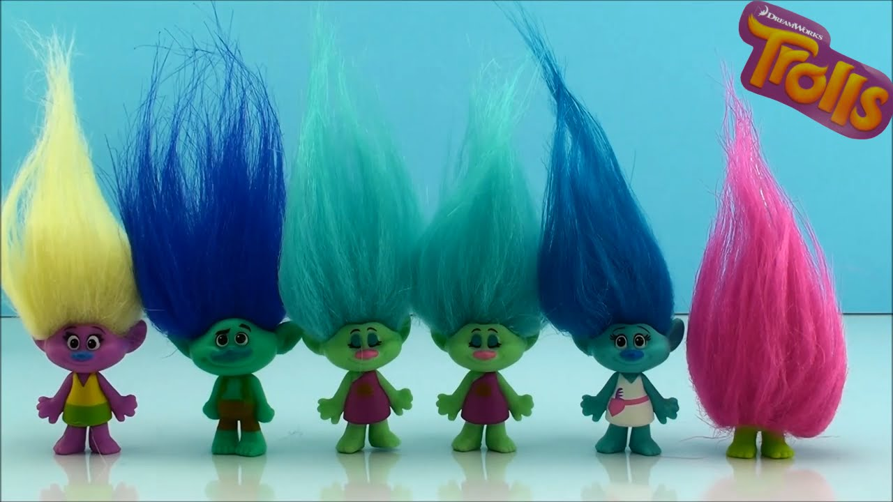 Dreamworks Trolls Blind Bags Series 1 Opening Surprise