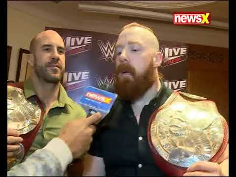 Exclusive conversation with WWE Tag team champions Sheamus and Cesaro