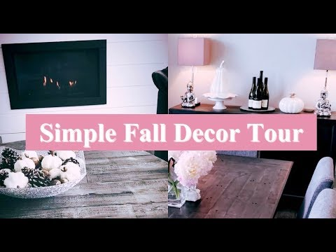 FALL HOME TOUR 2019 - COZY MODERN FARMHOUSE - FALL DECORATE WITH ME