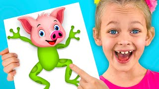 What an animal + More Nursery Rhymes & Kids Songs | Maya and Mary